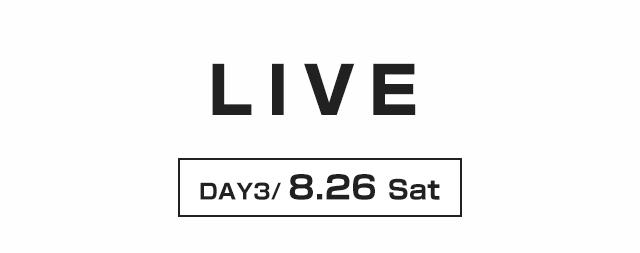 LIVE 8/26